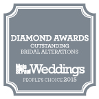 Minneapolis St. Paul Magazine Bridal Alterations Diamond Award Peoples Choice 2015
