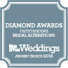 Minneapolis St. Paul Magazine Bridal Alterations Diamond Award Judges Choice 2016